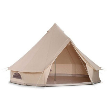 Hot Sale 3m 5m 6m 4m Bell Tents ,Large Waterproof Canvas Camping