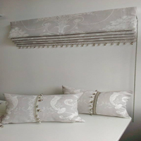 Blackout luxury curtains (roman) made to measure