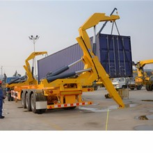 40T Hydraulic Trailer Container Lift/Side Loader Loading Heavy Box Semi Trailer