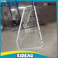 Foldable aluminium soccer goal, Soccer goal wall with shooting target