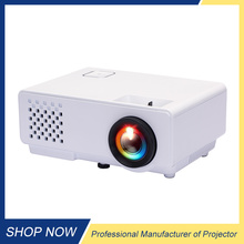 HD mini projector home theater portable mobile projectors short throw 3D LED projector