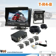 IP68 Waterproof Rugged video parking sensor system For Towing Vehicle