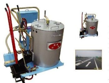 Hand push low price road line marking machine