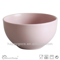 5.5'' pink bowl soup bowl ceramic rice bowl bulk supply