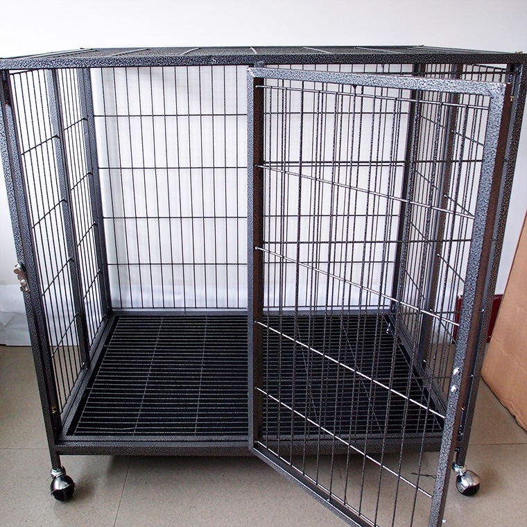 New Design Overstriking Dog Crate Foldable Stainless Steel Dog Cage