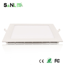 China Manufacturer 12w 170x170 mm SMD ultra thin Square dimmable led panel ceiling lights