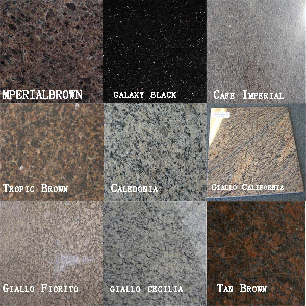 Marble Floor Color : Hot selling indian granite imperial red colors