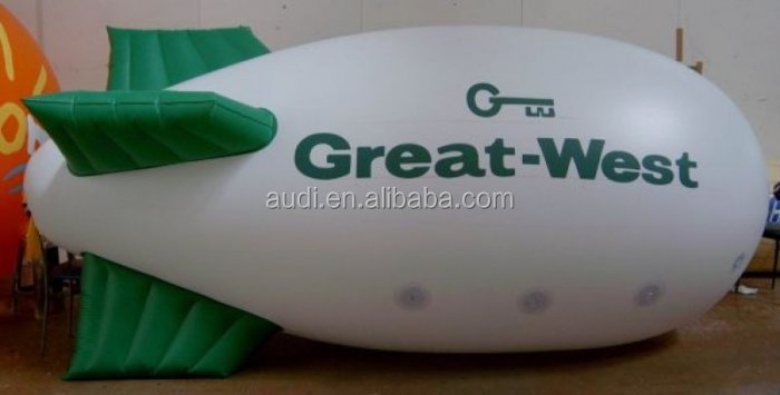 inflatable blimp, inflatable advertising zeppelin
