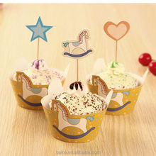 Top selling attractive style easy carry toothpick cupcakes