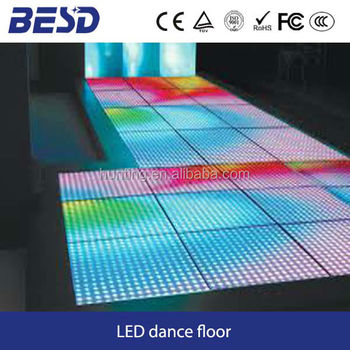 full color P10 indoor led Dance floor for show/party/concert