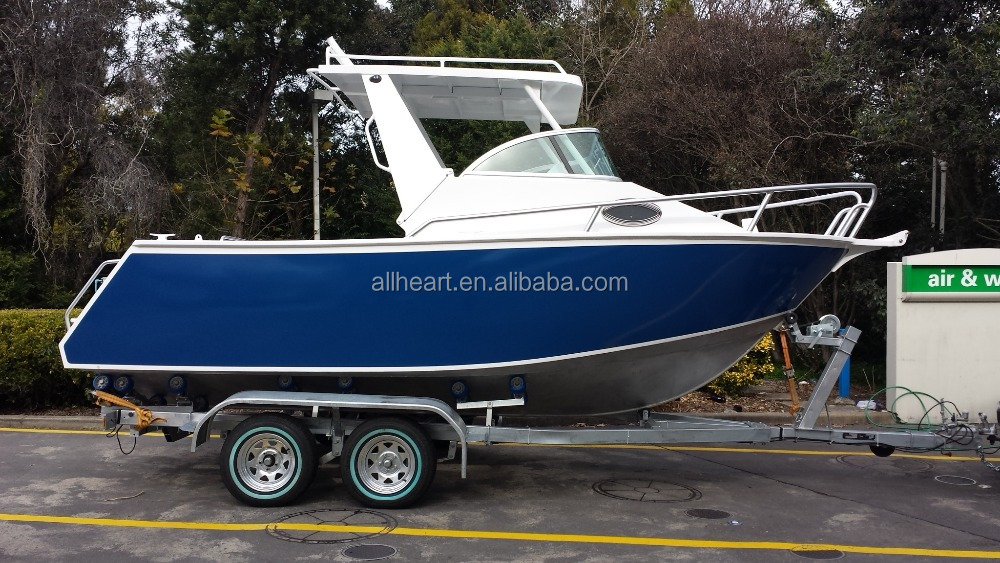 21ft Cuddy Cabin Aluminum Boat for Offshore Fishing