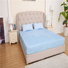 WATERPROOF MATTRESS PAD TERRY CLOTH BED TOWEL FITTED COVER FABRIC PROTECTOR