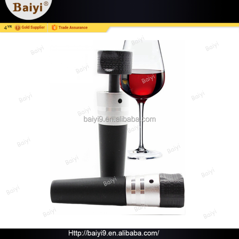 Simple Style Quickly Bar Accessories Silicone Rubber Bottle Stopper For Wine