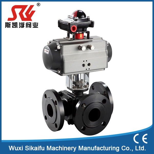 Professional supplier electric actuator cng filling valve for water treatment made in China