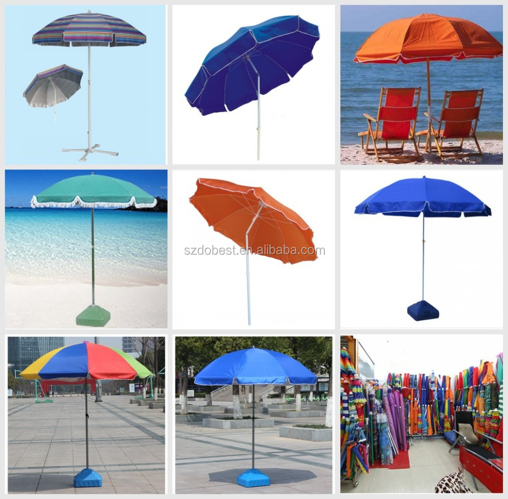 Tilt promotional sunshade beach umbrella with tilt