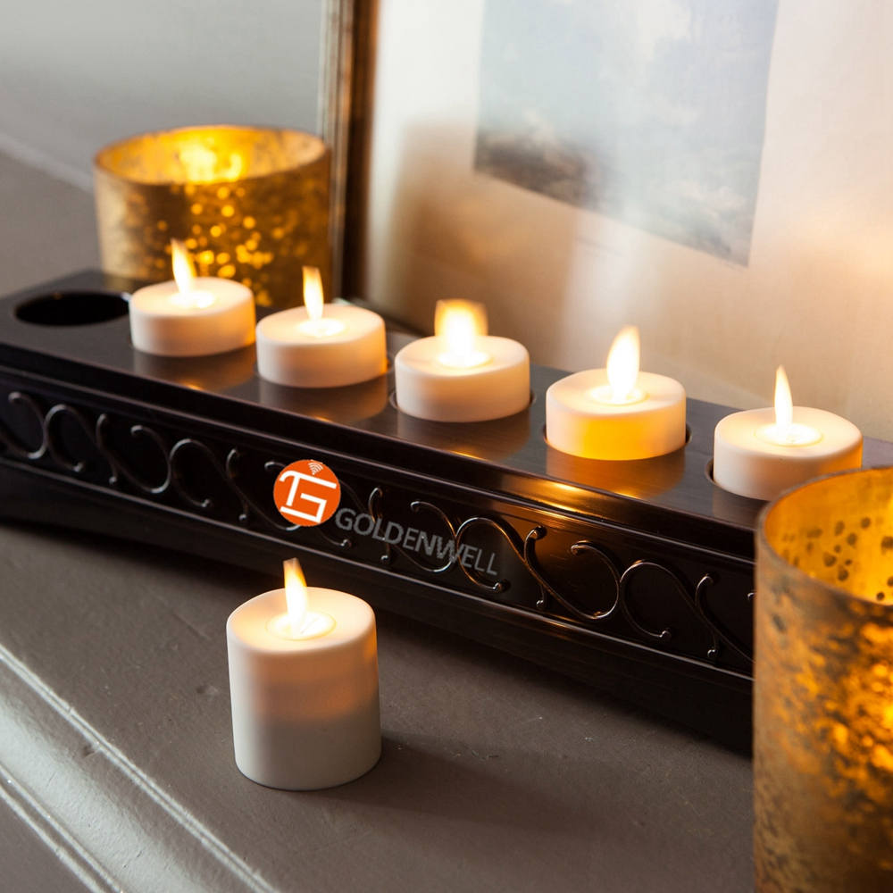wholesale luminara remote controlled led flameless tealight candles. Black Bedroom Furniture Sets. Home Design Ideas