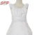 3-Tiered V-Neck Ruched Bodice First Communion Dress