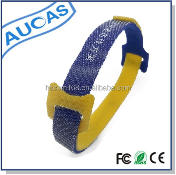 Alibaba wholesale flexible rubber cable ties for cat5e/cat6/cat6a/cat7 network cable factory price