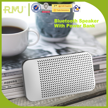 2017 Hot China New fashion Power Bank Portable Bluetooth Speaker