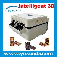 yuxunda newly patent induction heating 3D sublimation printer for iphone 5 golden