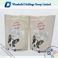 factory manufacture plastic stand up pouch zipper pet food packaging and pet food bag