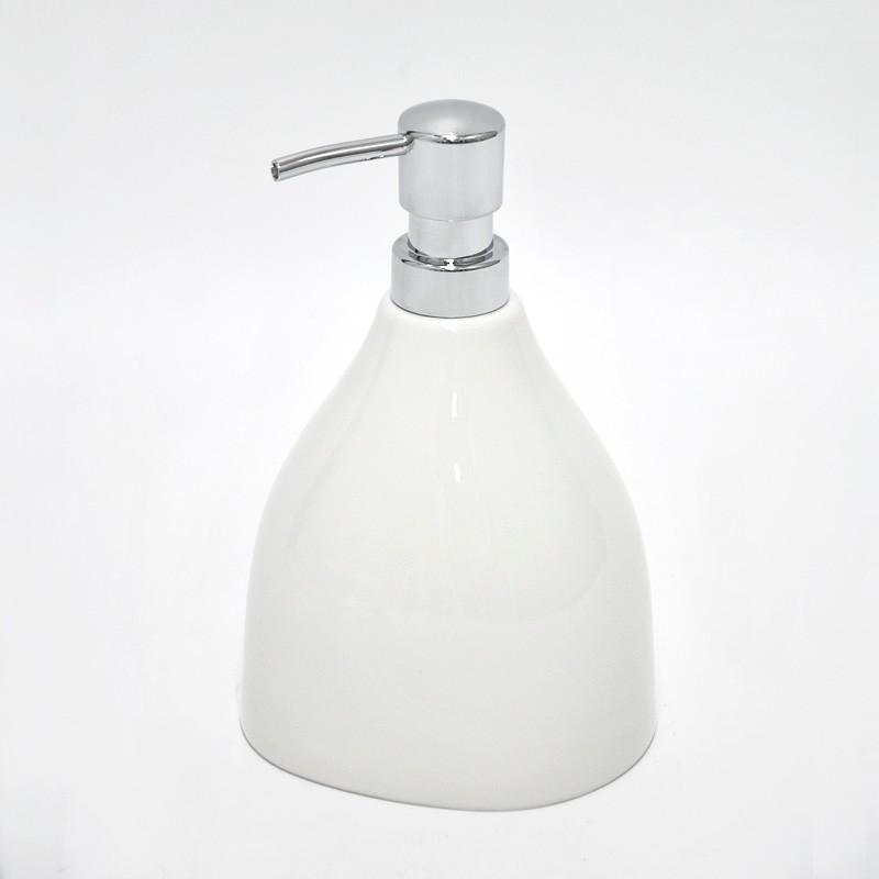 Weisse keramik dekorativen kuche seifenspender flussigseife for Seifenspender küche