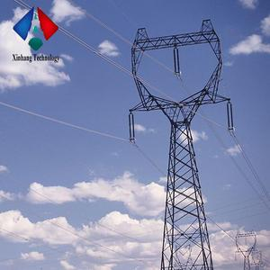 lattice 330kv towers 33kv transmission line steel pole price 22kv power electrical tower