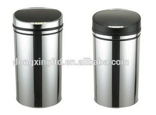 Stainless Steel Sensor Induction LED Big Dustbin