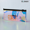 Summer hot sealing new design hologram cosmetic bag for make up tool package
