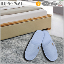 Wholesale White Logo Printed Custom Indoor Disposable Hotel Hospital Slippers