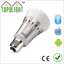 Guangzhou 16000000 colors no remote controler required smart Bluetooth RGB led lighting bulb