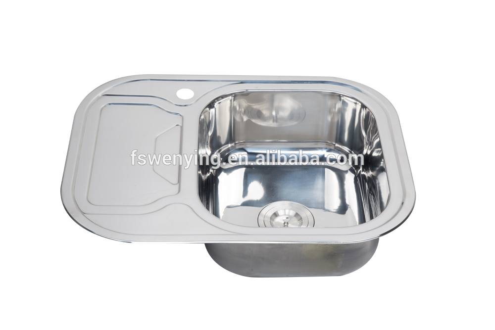WY-6349A Wholesale Portable Camping Bathroom Stainless Steel Kitchen Sink