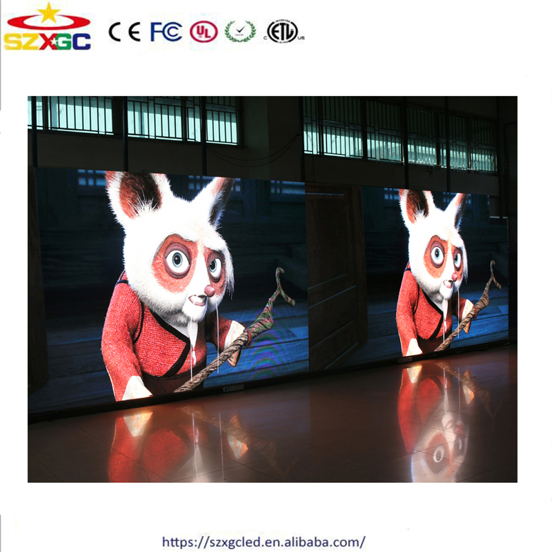 RGB Full Color SMD 4.81mm sexi video p4.81 panel led display