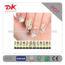 2014 New Non-toxic Glitter Nail Sticker Printer