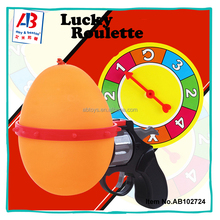Party crazy hour lucky roulette game lottery balloon gun toys for Kids