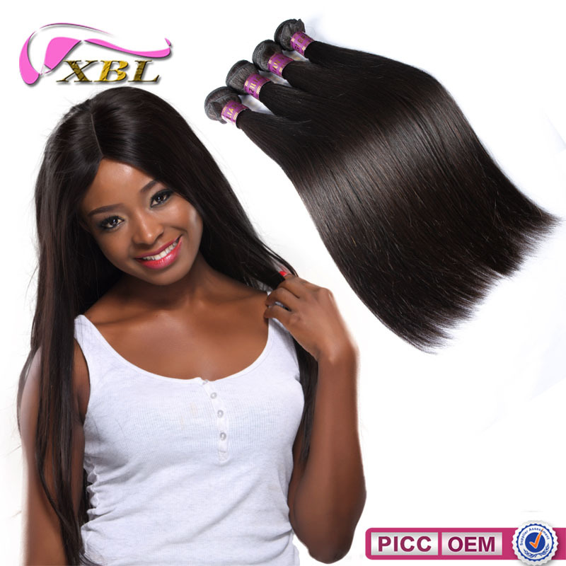 Full cuticle remy hair wholesalers , cheap Brazilian remy human hair
