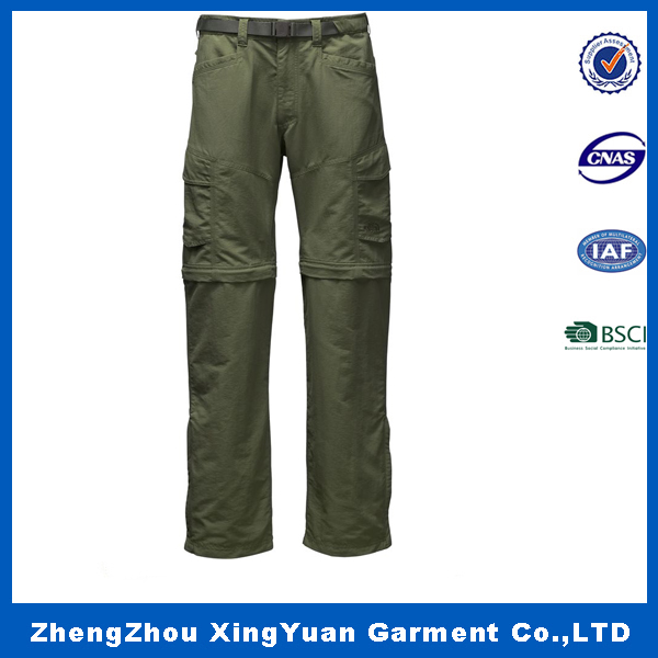 army trousers fashion men simple trousers professional manufacturer