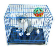 Dog Puppy Pet Crate Training Steel Cage Kennel
