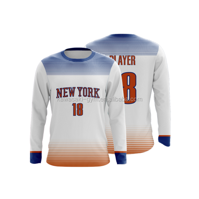 Professional wholesale custom blank basketball shooting shirts color white