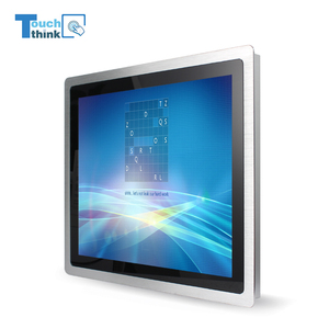 3mm Thin Bezel Front Panel 17 Inch USB Powered Touch Screen Monitor Embedded Industrial Monitor