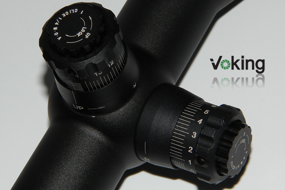Voking/OEM 1.5-6X42IR rifle scope with 30mm tube China wholesale rifle scope hunting equipment