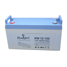 Kweight maintenance free sealed lead acid battery 12V 100AH solar , used in solar system / UPS / inverter / telecom
