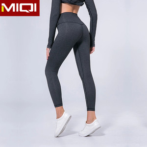 Low MOQ High Quality Womens Gym Wear Yoga Pants Sport Yoga Fitness Leggings