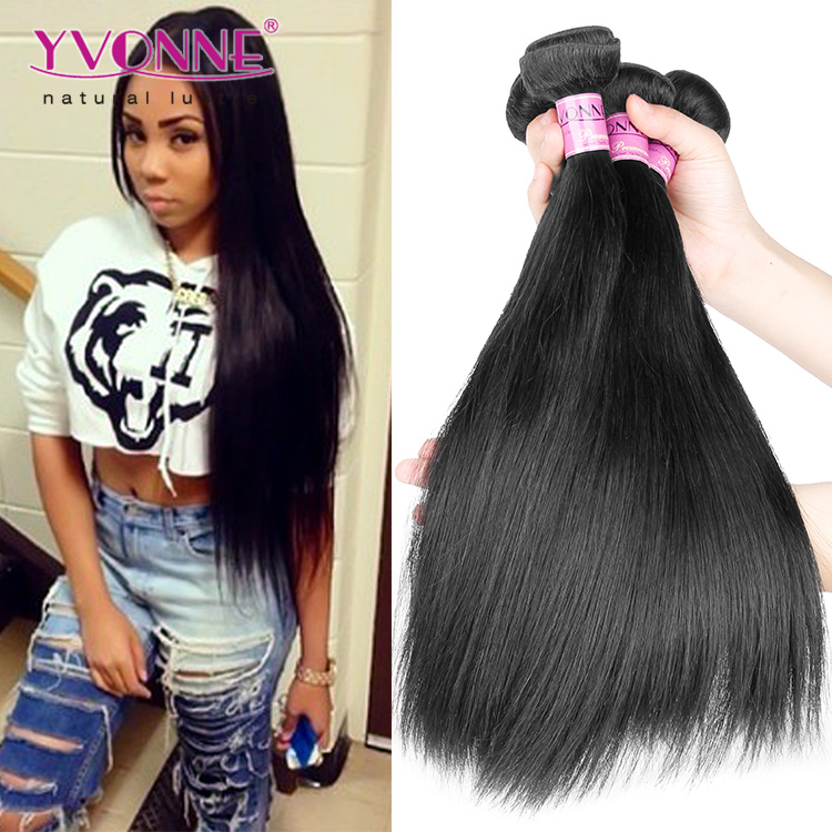 Unprocessed virgin hair extensions 26 28 30 inch brazilian hair