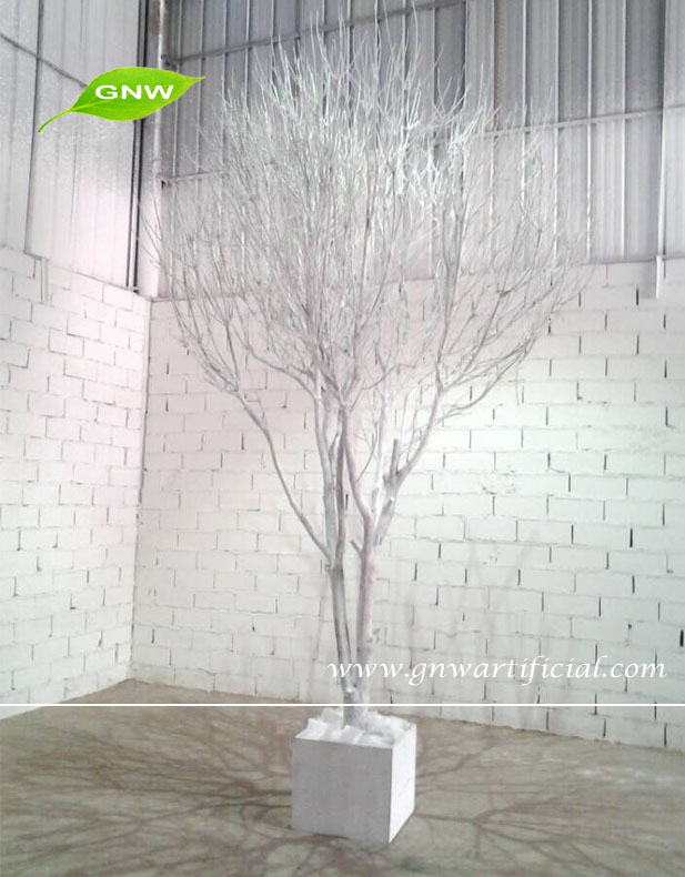 Gnw window display decorations tree artificial dry
