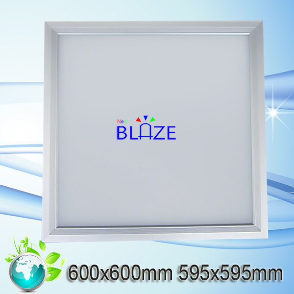 triac dimmable 100lm/w Ofiice living room lighting 50w 72w 600x600 led panel light smd 2835