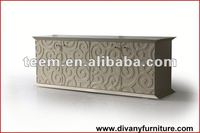 www.divanyfurniture.com Living Room Furniture(Cabinets,tv stand) wooden cabinet with woven baskets