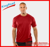 Nylon spandex sport dry fit polo shirt custom running golf men plain t shirts