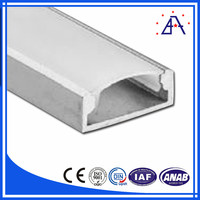 China Brilliance supplier Best Quality Aluminum Extrusion Profile For Led