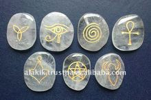 Crystal Quartz Wiccan Set : Occult ritual Product supplies